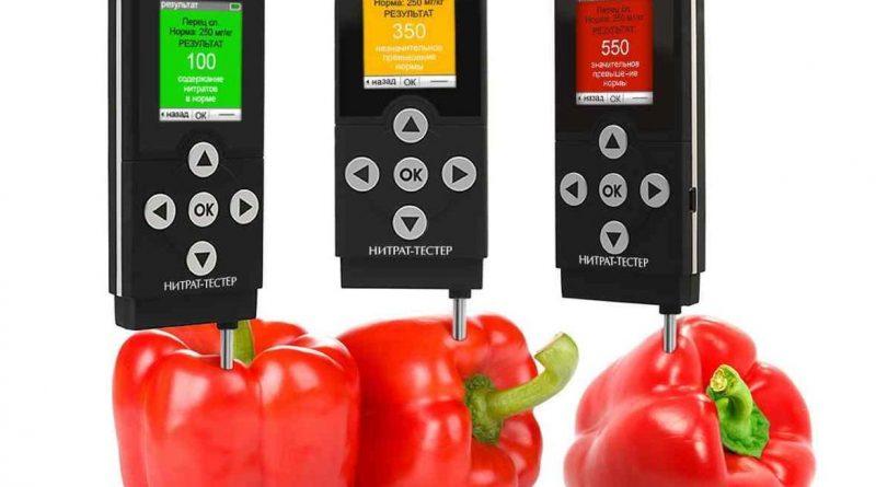 Как определить количество нитратов в продуктах