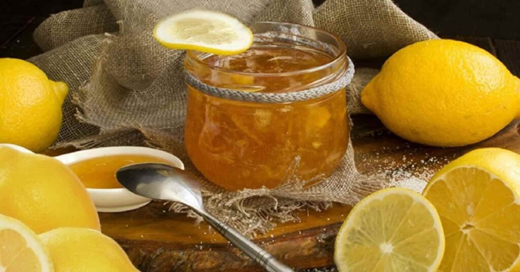 Рецепт лимонного джема для заготовки на зиму