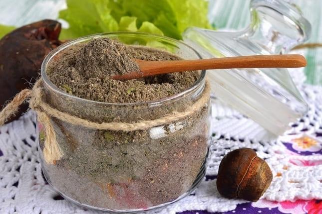 Рецепт приготовления грибного порошка