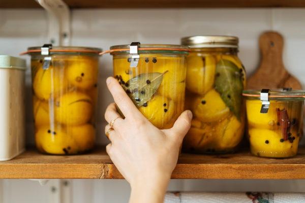 Заготовка соленых лимонов на зиму