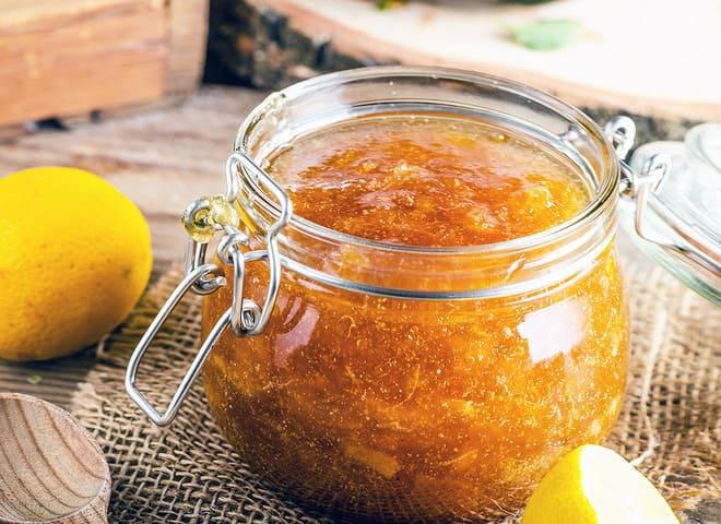 Лимонно-морковное варенье