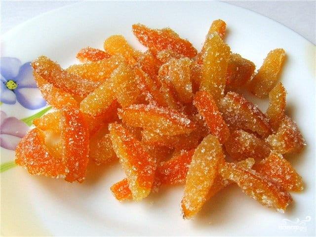 Цукаты из мандаринов на зиму