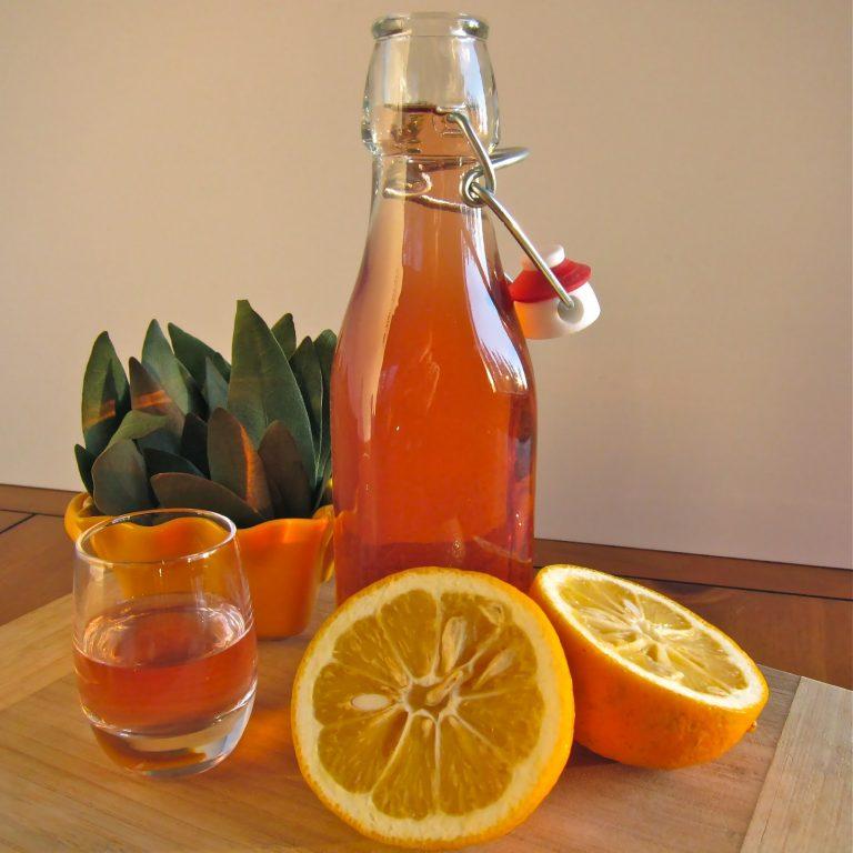 Вино из апельсинов домашнего приготовления