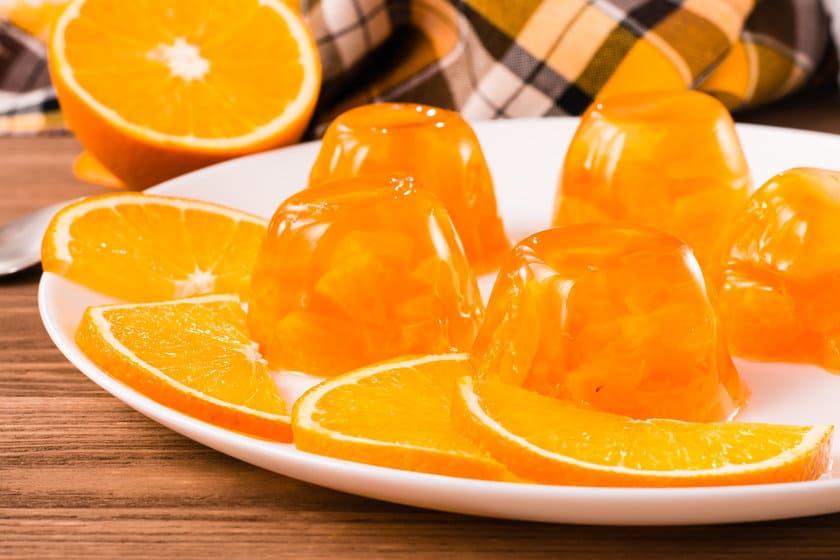 Желе из мандаринов или апельсинов на зиму