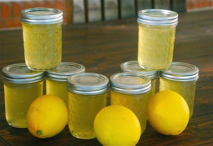 Желе из лимонов на зиму