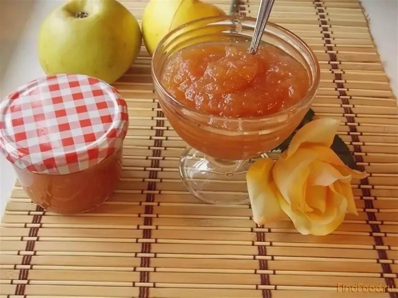 Яблочное повидло в духовке