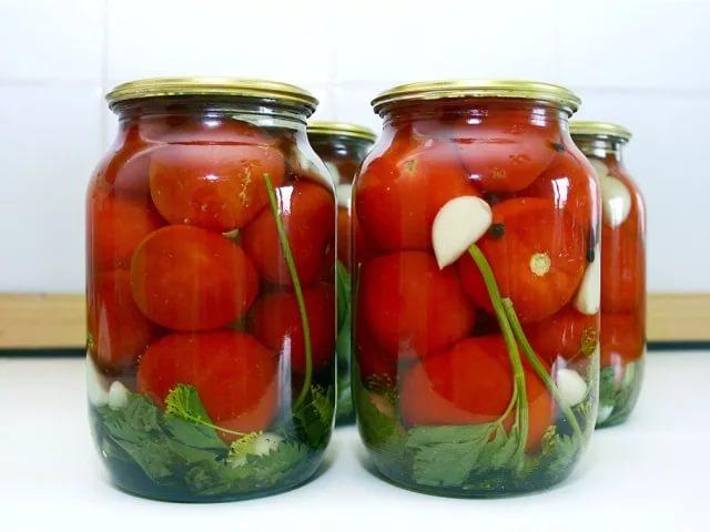 Самый простой рецепт маринованных помидоров