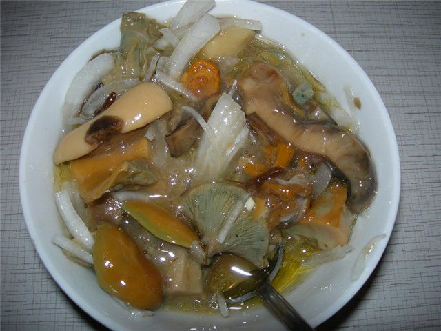 Рецепт маринованных сыроежек и соленых боровиков